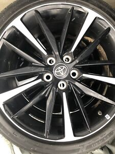 19 Toyota Camry Xse 2018 Oem Wheels Rims Tires