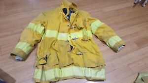 Globe Gx 7 Firefighter Turnout Jacket Size 42x35