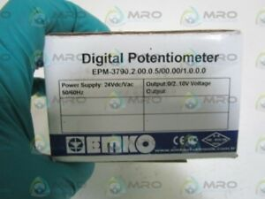 Emko Digital Potentiometer Epm 3790 2 00 0 5 00 00 1 0 0 0 New In Box
