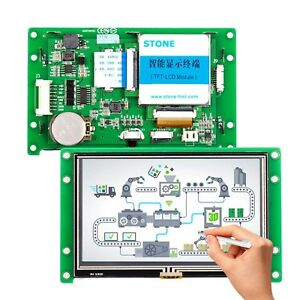 4 3 Inch Tft Lcd Display Module With Controller Program Touch Uart New