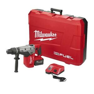 New Milwaukee 18 volt Fuel 2717 21hd Cordless 1 9 16 In Sds max Rotary Hammer
