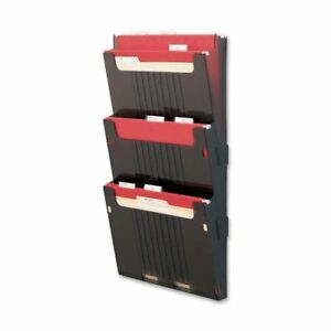 Deflect o Hanging Wall File Folder System 25 Height X 12 6 Width X 3 9