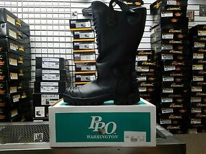 Pro Leather Fire Boots Model 8000 Nfpa 1971 2007 Edition Size 7d