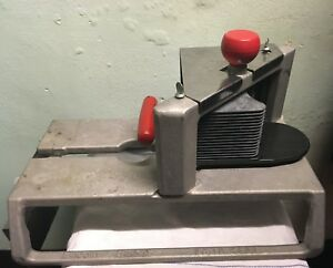 Lincoln Redco Insta Slice 1 4 Scallop Cut Commercial Food Slicer