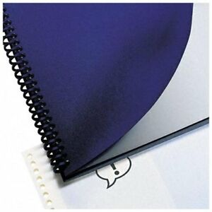 Gbc Regency Presentation Binding Cover 8 75 X 11 25 Navy 200 Box