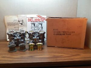 Pair Nos Dellorto Dhla 40 Carburetors Ford Racing D12x 9510 Bb