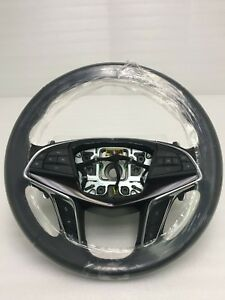 Cadillac Ct6 Steering Wheel Black Leather W Shift Paddles 84016902 2016 2017