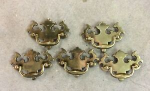 Antique Brass Drawer Pulls Handles Dresser Furniture Crafts Replacements