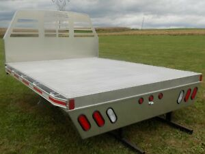 New Sw Aluminum Pickup Flat Bed Truck Body Dodge Ford Chevy Gmc