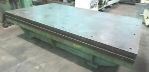 Surface Plate 72 X 120 Goodman 10 Thick 25 Top To Floor 30158