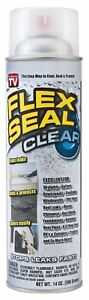 Pack Of 6 Flex Seal 14oz Clear liquid Rubber