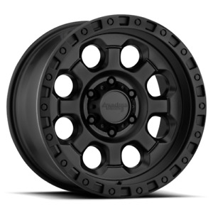 18 Inch Black Wheels Rims Chevy Silverado 2500 3500 Dodge Ram Truck 8 Lug Ax201