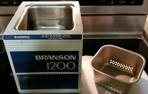 Bransonic Ultrasonic Cleaner Branson Model B 1200 r1
