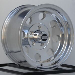 16 Inch Wheels Rims Ford F150 E150 Dodge Truck Jeep Cj American Racing Ba