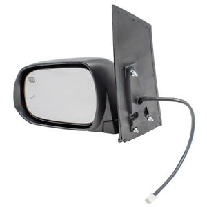 Drivers Power Side Mirror Heated Blind Spot Detection For 13 17 Toyota Sienna