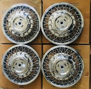 Nos Gm 1988 1991 Buick Cadillac Oldsmobile Spoke Wheel Cover Wire Wheel Cover 14