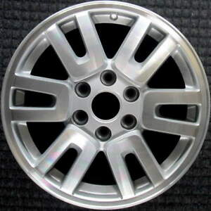 Ford Expedition Machined W Silver Pockets 18 Inch Oem Wheel 2007 2014 Bl1z100