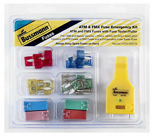 Cooper Bussmann Emergency Fuse Kit 30 pc Atm fmx ek