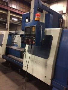 Large 65 X 25 Cnc Vmc Supermax Max 8 Vertical Machining Center Fanuc Control