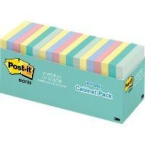 Post it reg Notes 3 x3 Cabinet Pack 65418apcp
