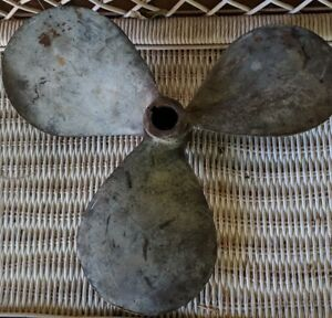 Antique Bronze 17 Lh 10 Propeller 3 Blade Salvage Michigan Wheel Marine