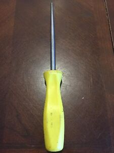 Snap On Tools Long Awl Heavy Duty Pick Yellow Hard Handle 7asaa Scribe O ring Us