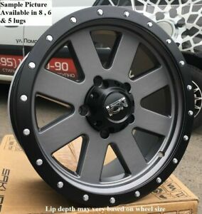 4 New 20 Wheels Rims For Ford F 350 2015 2016 2017 2018 Super Duty 1015