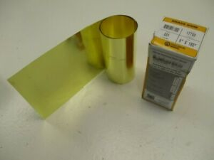 Precision Band 17700 Brass Shim 6 x180 001 New In Box