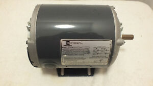 Emerson Electric Motor 1 3 Hp 1725 1425 Rpm Model S55nbw 6983