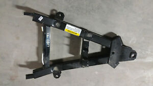 Hiniker Snow Steel Trip Edge Plow A Frame Weldment Push Frame 25010807 Straight