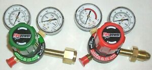 Victor Firepower G250 Oxygen Acetylene Regulator Set Cutting Welding Cga 510