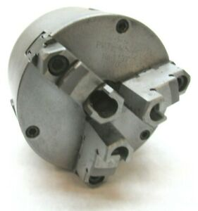 Bison 5 Three jaw Lathe Chuck W 1 1 2 8 Threaded Mount putr m5zd