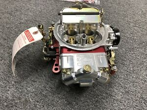 Holley 0 76650rd 650 Cfm Ultra Double Pumper Four Barrel Street Carburetor Red