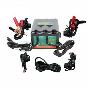 Deltran Battery Tender Plus 12v 2 Bank Battery Charger System 2 Bank 2bank