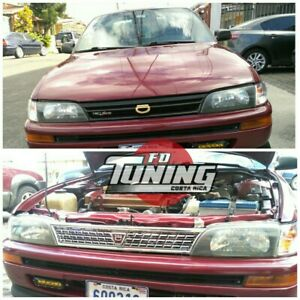 Toyota Corolla Grill Jdm 93 97 With Emblema