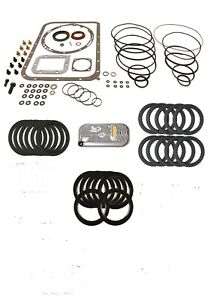 Transmission Rebuild Kit With Frictions For Allison At540 Shallow Pan 1970
