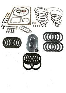 Transmission Rebuild Kit With Frictions For Allison At545 Deep Pan 1970