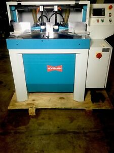 Hoffmann Pp2 nc Pneumatic Dovetail Routing And Dowel Boring Machine