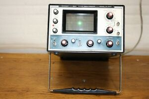 Vintage Heathkit Dual Trace Oscilloscope Model 10 4510 Green Light Is On