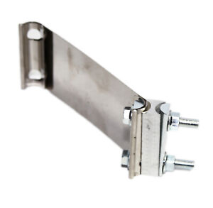 2 25 Butt Joint Band Clamp Stainless Steel Clamp For Exhaust Catback Muffler