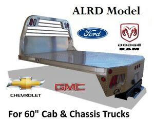 Chassis Aluminum Flatbed Body Alrd Ford Chevy Dodge Chassis Trucks W 60 Ca