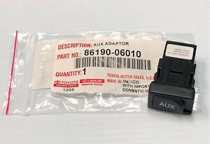 Toyota Oem Factory Aux Auxiliary Stereo Jack Adapter 2007 2009 Yaris