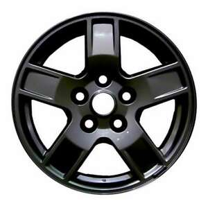 Jeep Grand Cherokee 2005 2007 17 Oem Wheel Rim Black