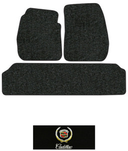 1955 1956 Cadillac Eldorado Floor Mats 3pc Loop Fits 2pc Frts
