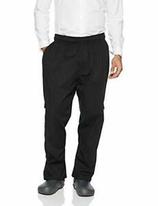 New Chef Works Men s J54 Cargo Chef Pants Black X small Free2dayship Taxfree