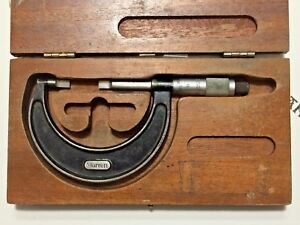 Starrett Blade Outside Micrometer 1 2 Used working Condition