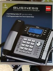 Rca 25424re1 4 line Corded Speakerphone With Caller Id Wireless Dect 6 0 Module