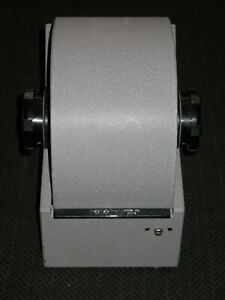 Vintage Large Gray Steel Rolodex 3500 s Metal Covered Rotary Card File