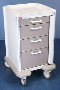 Metro Basix Plus Medical Supply Cart Current Model Medical Cart With Warranty