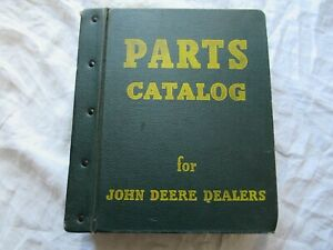 Lot Of 20 John Deere Grain Drill Parts Catalogs With A Hard Cover Jd Binder